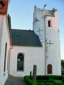 Hammarlöv kyrka church