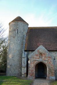 Moulton St Mary church