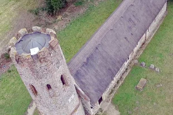 Ashby St Mary Drone photo