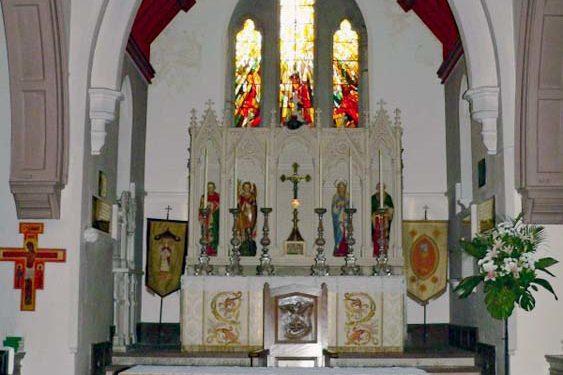 Lewes St Michael church