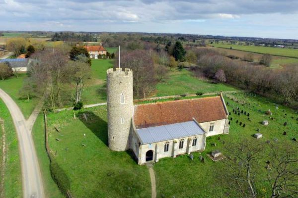 Frostenden All Saints Drone photo