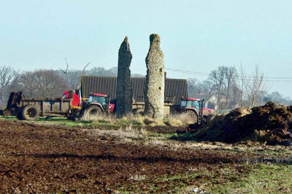 Thorpe Parva ruins