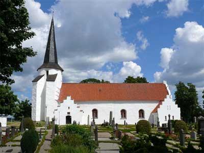 Blentarps kyrka Round Tower Church