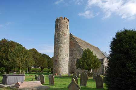 Round Tower Churches in Suffolk