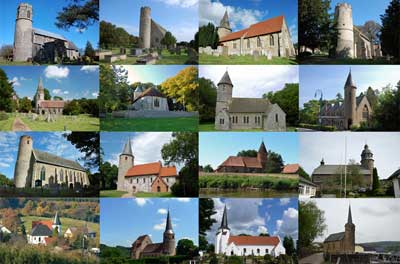 Round Tower Churches of Europe