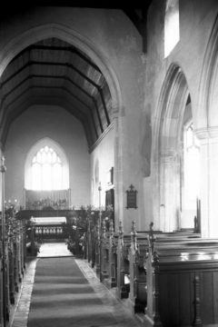 Forncett St Peter's church from west 08.04.1939