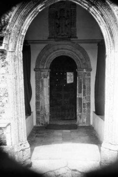 Haddiscoe St Mary's church Norman S door & porch10.07.1940