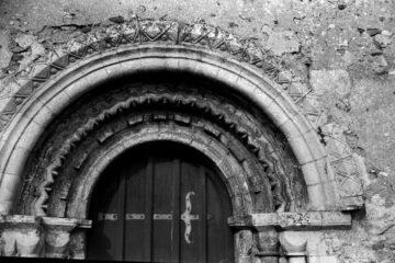 Hales St Margaret's church Norman S door 09.03.1940