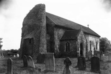 Hardwick St Margaret's church from SW 09.07.1940