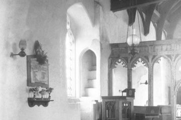 Hardwick St Margaret's church rood stairs 09.07.1940