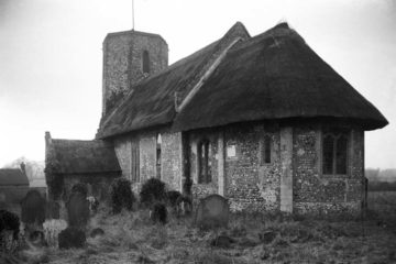 Heckingham St Gregory's church from SE 09.03.1940