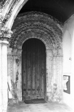 Hellington St John Baptist's Norman S door 25.05.1940
