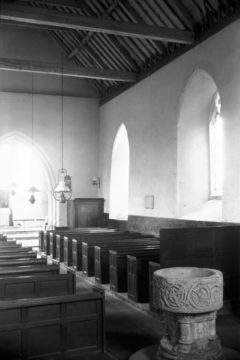 Lt Snoring St Andrew's church interior east 28.07.1950