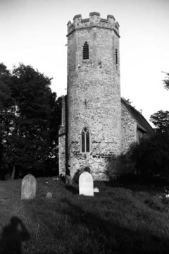Mautby Ss Peter and Paul church tower 06.10.1951