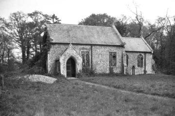 N Burlingham St Peter's church south side 22.04.1946