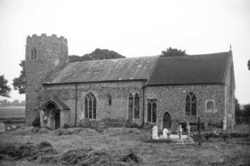 Shereford St Nicholas' church south side 28.07.1950