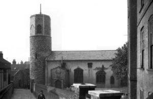 Norwich St Benedict's Round Tower Church