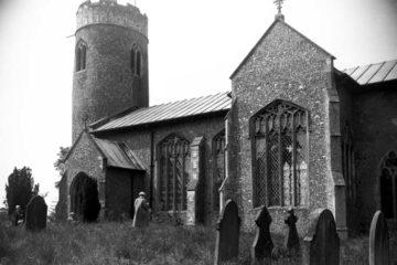 Stody St Mary's church from SE 02.06.1960