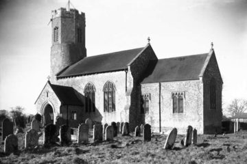Swainsthorpe St Peter's church south side 02.03.1940