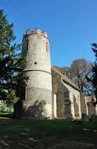 Bartlow St Mary church