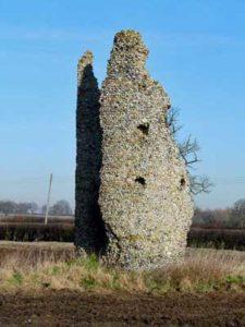 Thorpe Parva church ruins