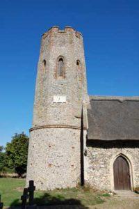 Ashby St Mary church