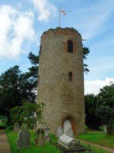 Bramfield St Andrew church