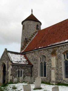 Bawburgh St Mary & St Walstan church