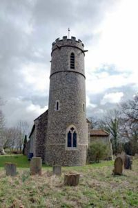 Spexhall St Peter church