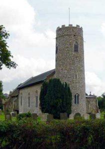 Wissett St Andrew church