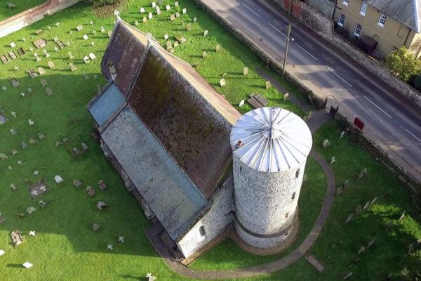 Burnham Deepdale St Mary Drone Photo