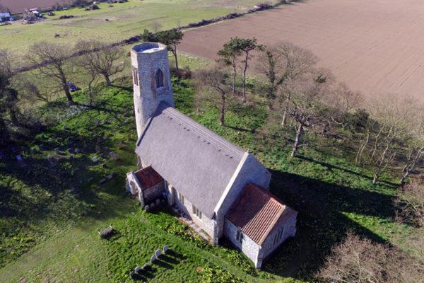 Edingthorpe All Saints Drone Photo