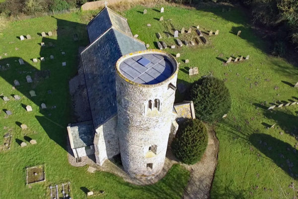 Gayton Thorpe St Mary Drone Photo