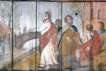 Pronstorf Vicelin Kirche Ceiling Painting